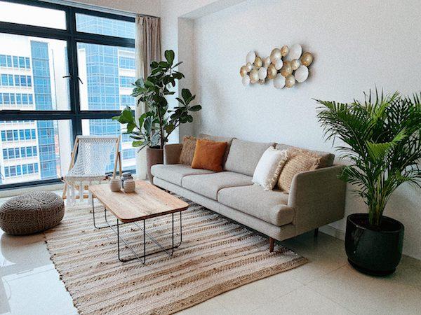 Modern co-living home for rent in Farrer Park, Singapore
